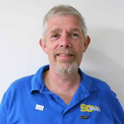 Forresters Car Club Committee Member Kelvin Saunders