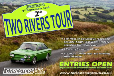 Forresters Car Club Two Rivers Tour 2018